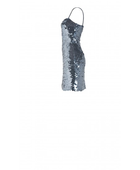 Minikleid mit schimmernden Pailletten