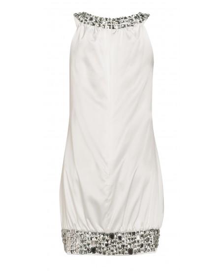 Tanktop-Kleid mit Applikationen