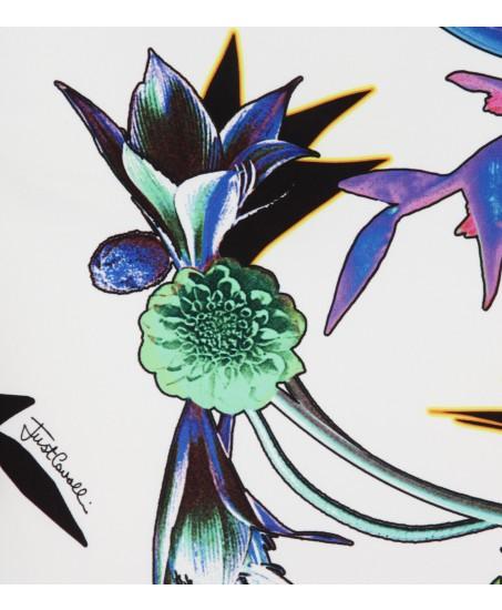 Etuikleid mit Blumenmuster