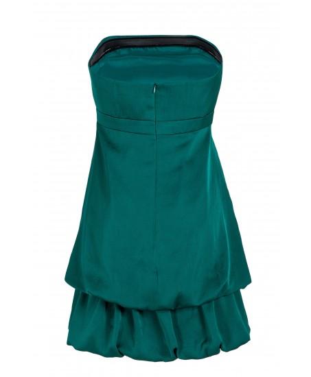 Bustier-Minikleid mit Stufenrock