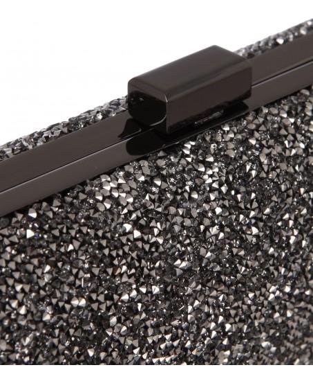 Clutch aus Swarovski-Kristallen