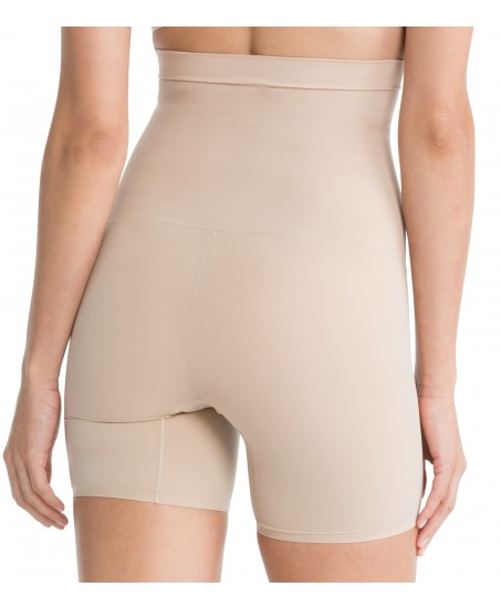 Shape my Day-High Waisted Mid Thigh in Nude