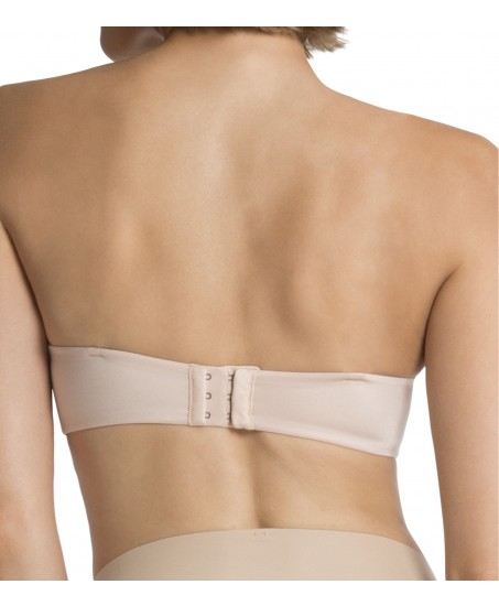 Pillow Cup-Signature Strapless - Soft Nude