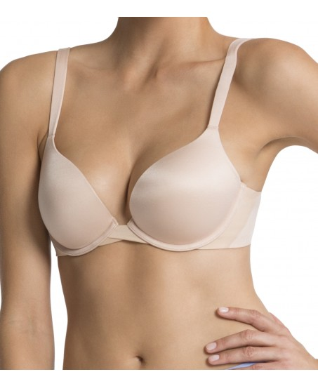 Pillow Cup Signature Push-up Plunge in Nude