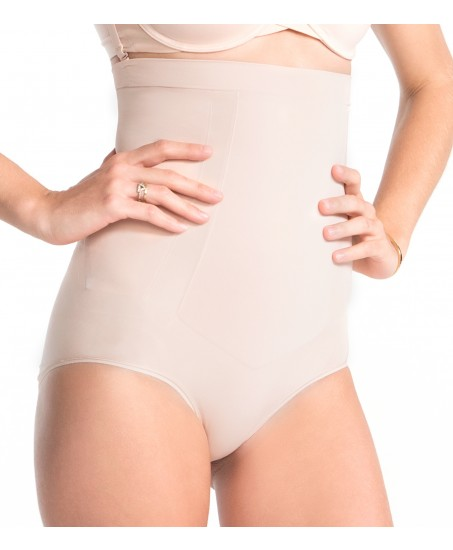 OnCore High-Waist Brief in Nude