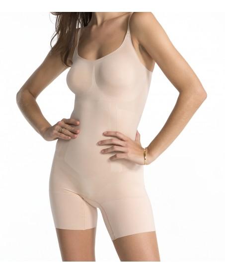 Oncore High-Waist Bodysuit in Nude