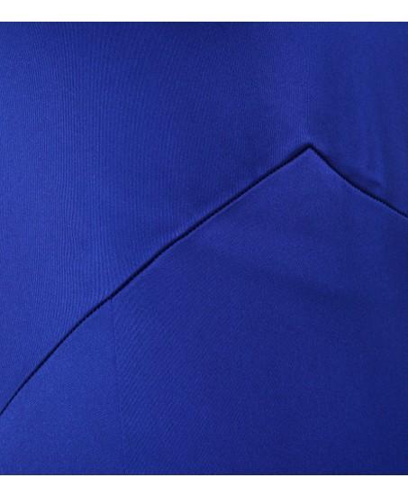 Klassisches Etuikleid in Blau