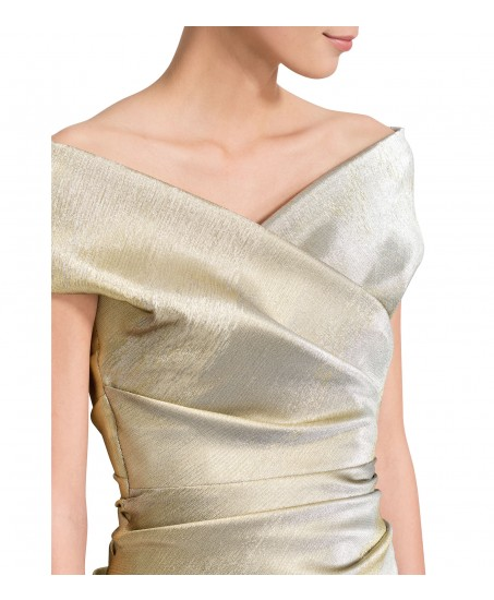 Cocktailkleid in Gold/Silber