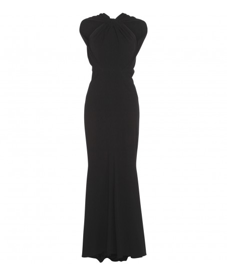 Stretch-Kleid in Schwarz