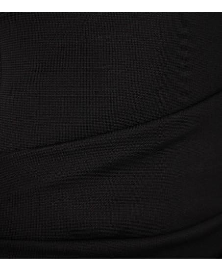 Abendkleid aus Jersey in Schwarz