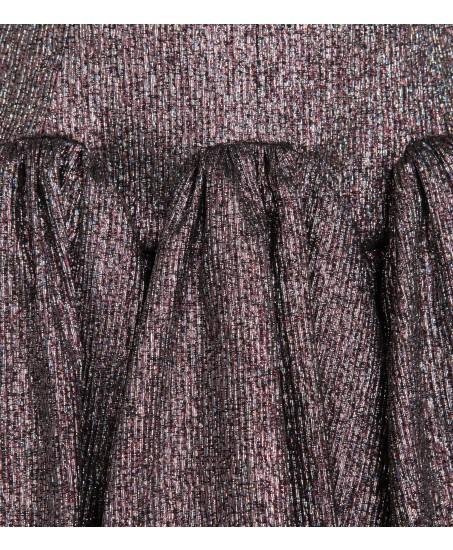 Petticoatkleid in Silber