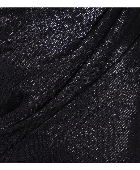 Abendkleid in schimmerndem Blau