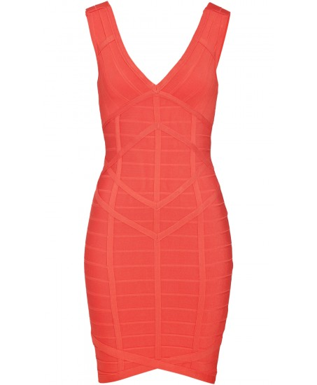 Minikleid aus Rayon-Stretch