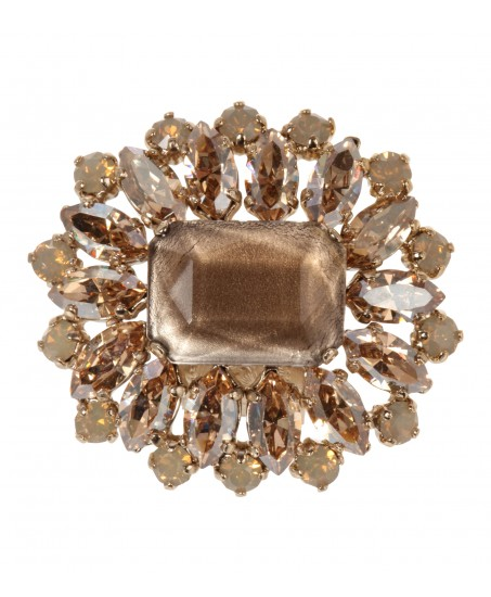 Statement Ring in Gold