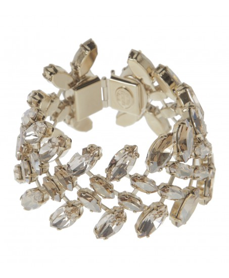 Goldenes Kristall-Armband