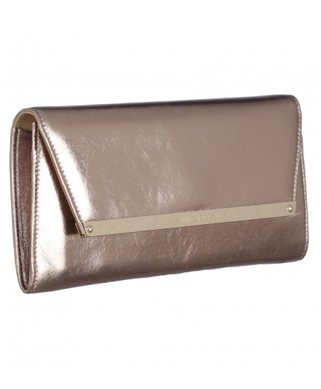 Clutch in Antik-Gold