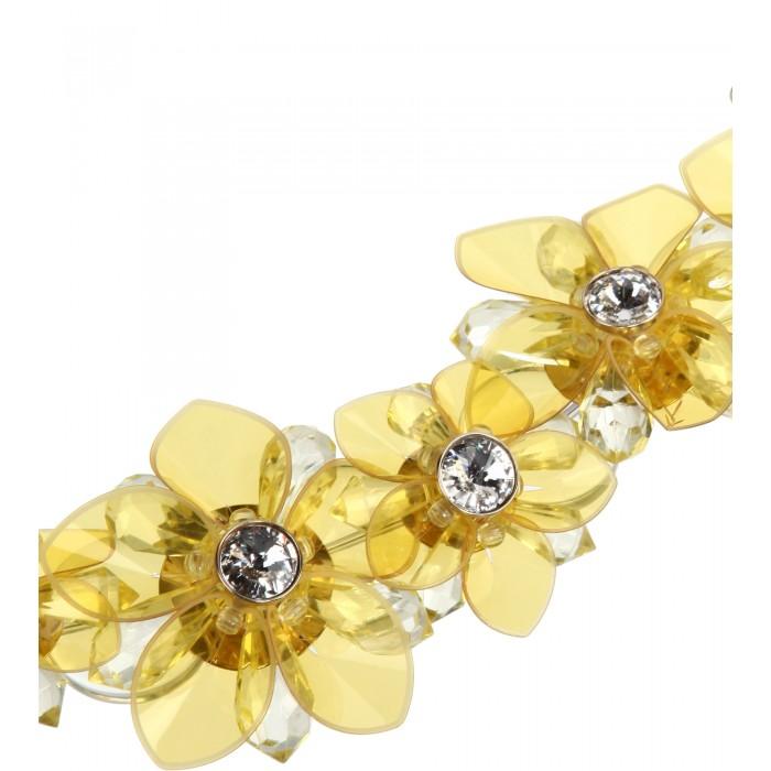 Kette mit gelben Blüten