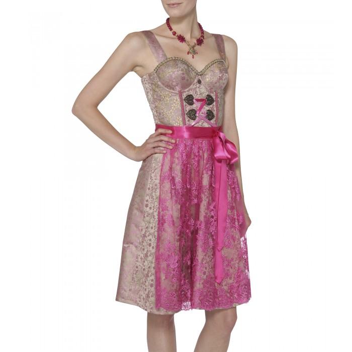 Glamourdirndl in Pink