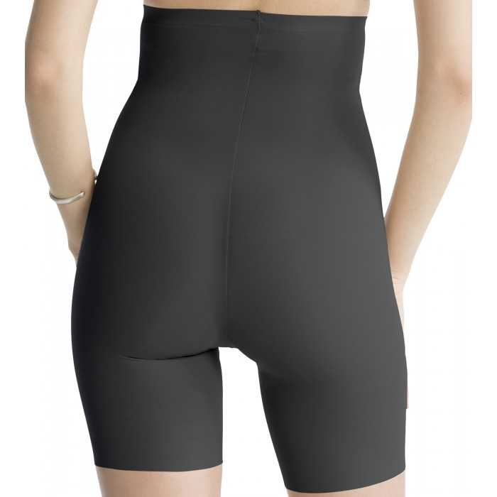 High-Waisted Shorts Trust Your Thinstincts in Black