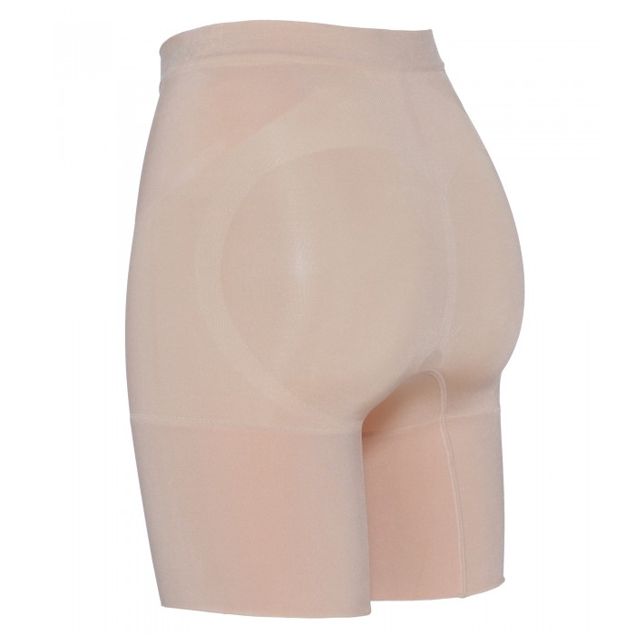 OnCore Mid-Tigh Short in Nude