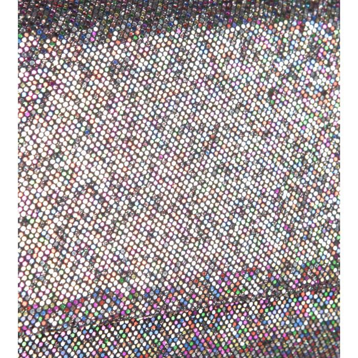 Glitzerclutch in Multicolor