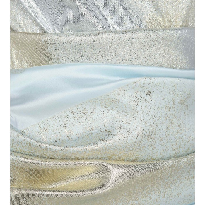 Cocktailkleid in Hellblau/Silber