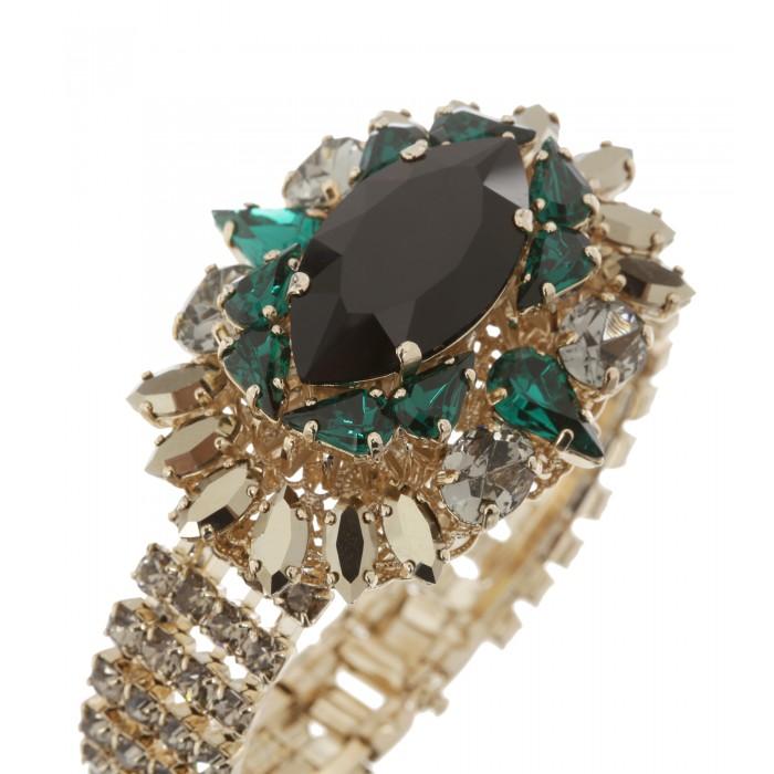 Edles Armband mit Swarovski Kristallen