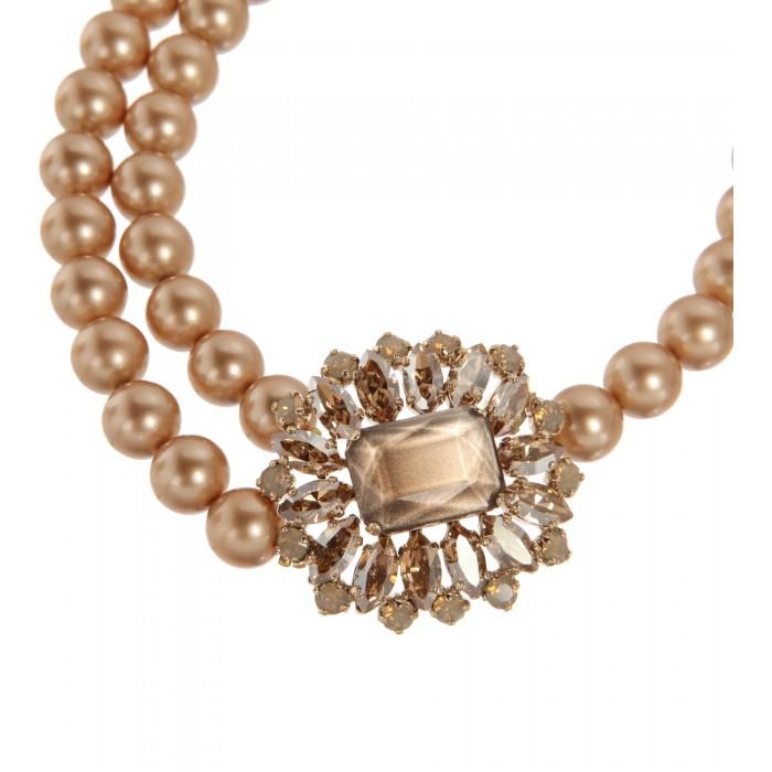 Asymmetrische Perlenkette