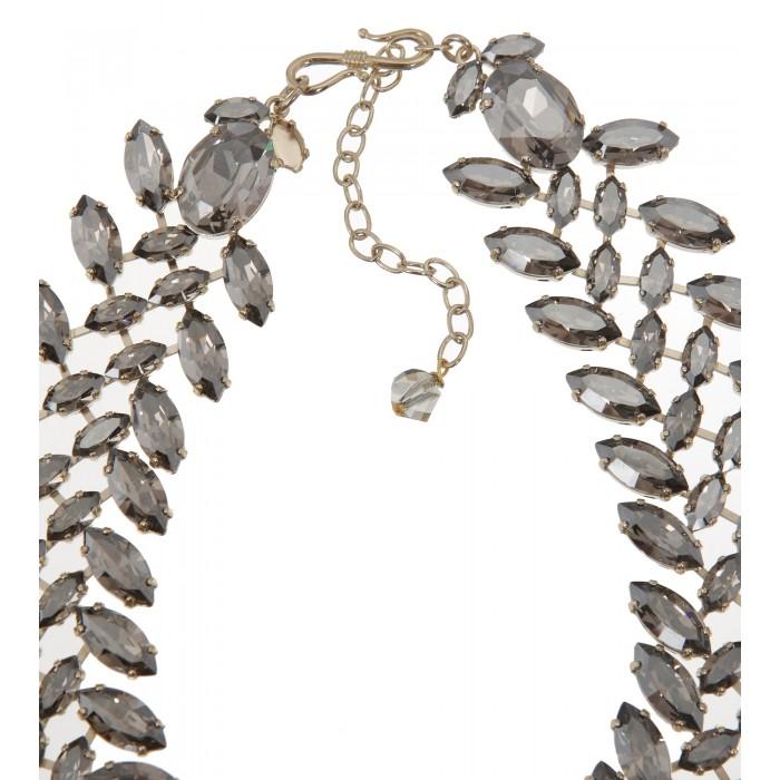 Collier mit Tropfenförmigen Steinen