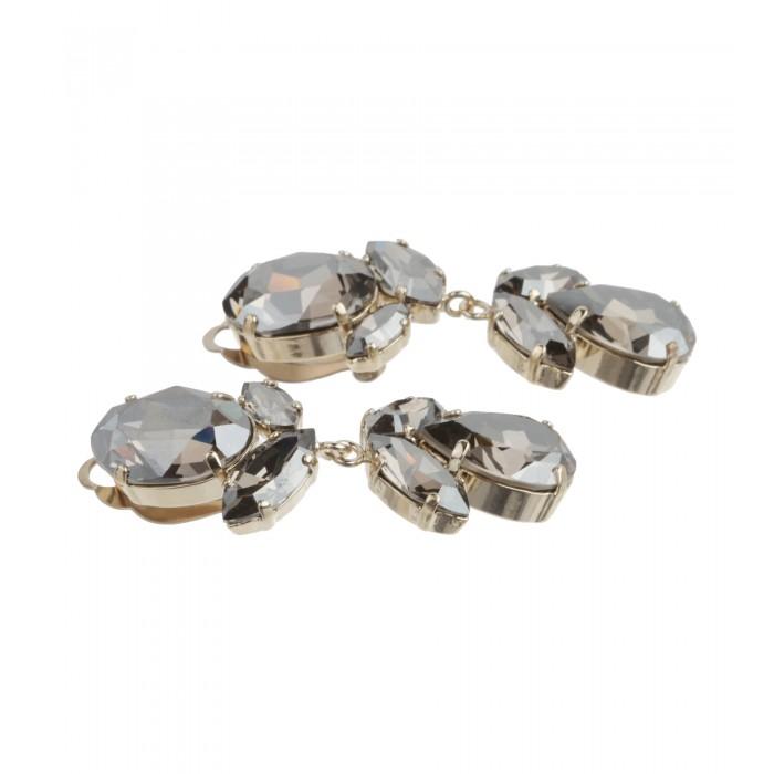 Bezaubernde Ohrclips in Silber