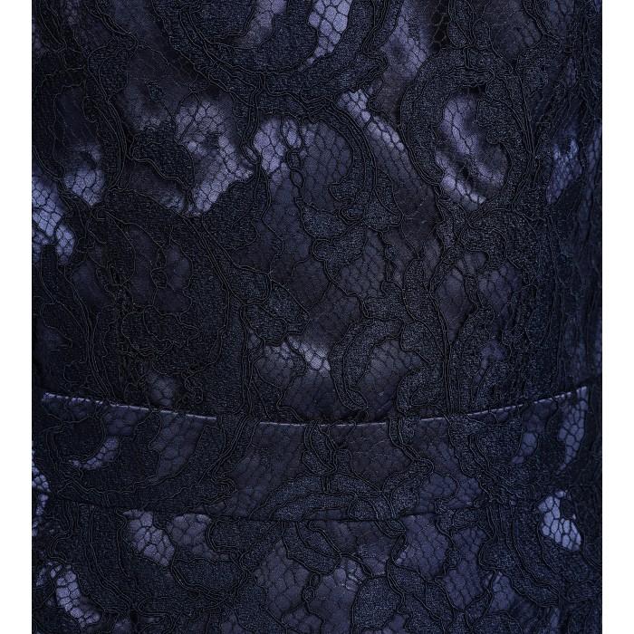 Cocktailkleid aus blauer Spitze