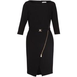 Jerseykleid mit Gürtel