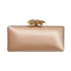 Clutch aus Satin