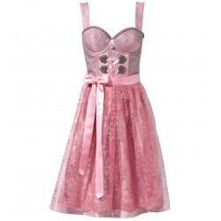 Glamourdirndl in Rosé