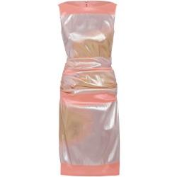 Cocktailkleid in Rosé/Gold