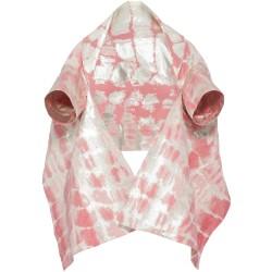 Jacke in Rosé-Silber