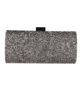 Clutch aus Swarovski-Kristallen