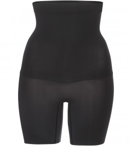 Shape my Day- High Waisted Mid Thigh in Black