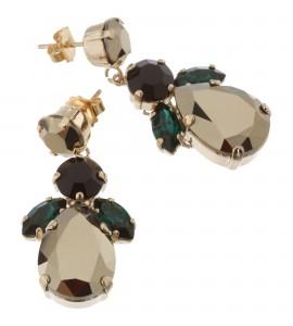 Ohrringe mit Swarovski Kristallen