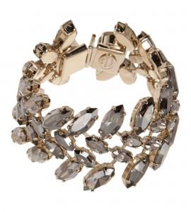 Silbernes Kristall-Armband