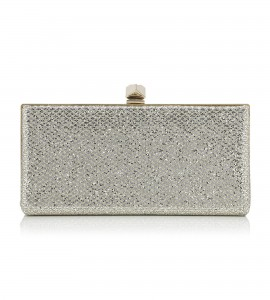 Clutch Celeste in Champagner