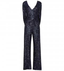 Jumpsuit mit Cape in Blau
