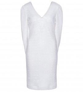 Cocktailkleid mit Cape in Weiß