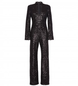 Jumpsuit mit Cut Out in Schwarz