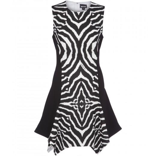 Minikleid mit Zebramuster