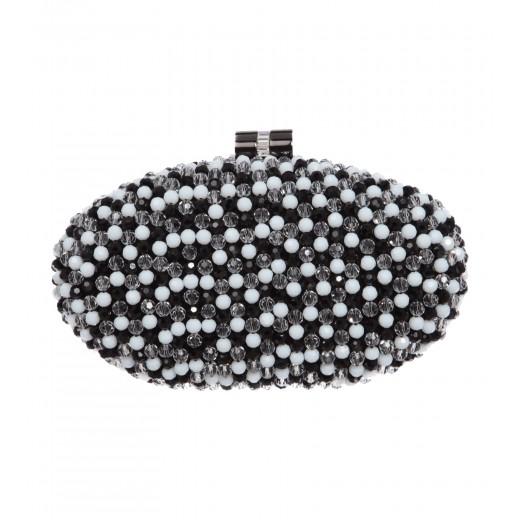 Box-Clutch mit Perlen