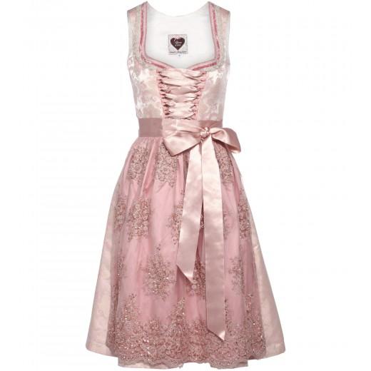 Dirndl Maja in Rosé/Pink