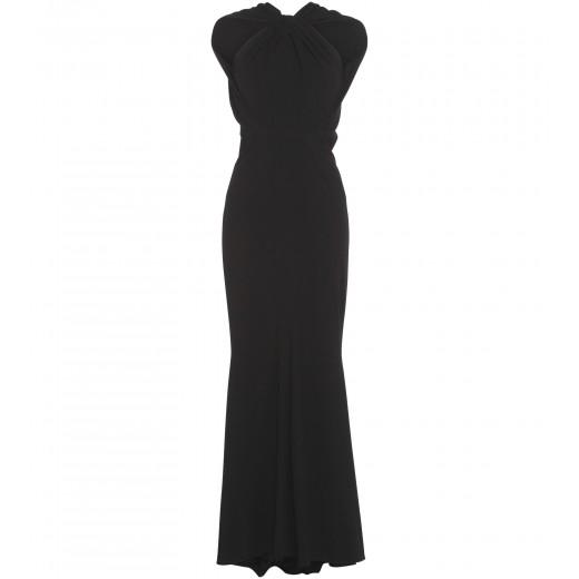 Stretch-Kleid in Schwarz
