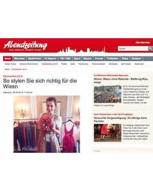 AZ.de: Wiesn-Styling Tipps