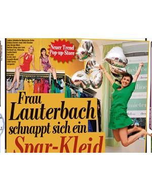 Bild: FRAU LAUTERBACH SCHNAPPT SICH EIN SPARKLEID